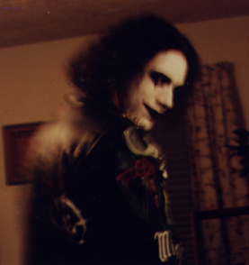 Yes, that's me as The Crow the Halloween of the film's release. Totally not dating myself here.