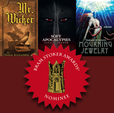 three stoker award finalists